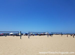 volleyball nets sandy beach corona del mar state beach newport beach city guide