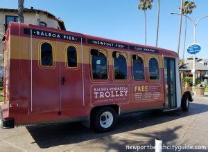 trolley balboa peninsula beach newport beach city guide