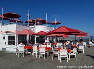 rubys diner balboa pier beach ca newpor beach city guide