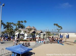restrooms balboa pier beach newport beach city guide