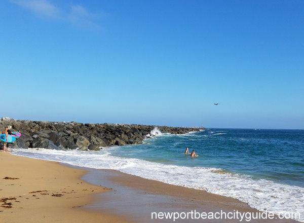 The Wedge West Jetty Park Balboa Peninsula Newport Beach