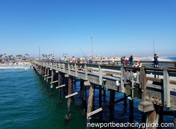 Newport Pier Newport Municipal Beach Newport Beach Ca
