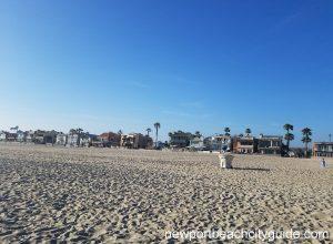 Santa Ana River County Beach West Newport Beach Ca